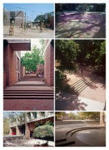Views of School of Architecture, Ahmedabad,1962, designed by B.V.Doshi