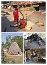 A village in Arukku Valley, Andhra Pradesh