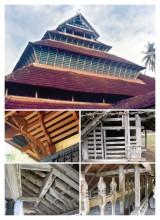Mishkal Mosque, Calicut, Kerala, (c.1500 A.D)